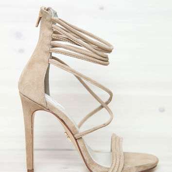 Windsor Smith - Catty Heel - Sand Suede