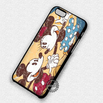 Cute Couple Mickey Mouse - iPhone 7 6 Plus 5c 5s SE Cases & Covers
