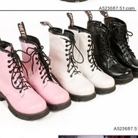 Kawaii Clothing | Botas Punk / Punk Boots LS277 | Online Store Powered by Storenvy