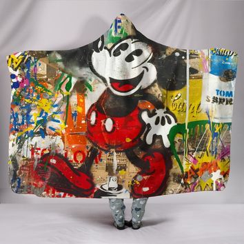 Designed Threads Hooded Blankets - Mickey Mouse