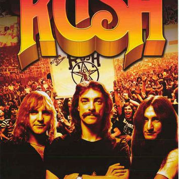 Rush Beyond the Lighted Stage Poster 24x36