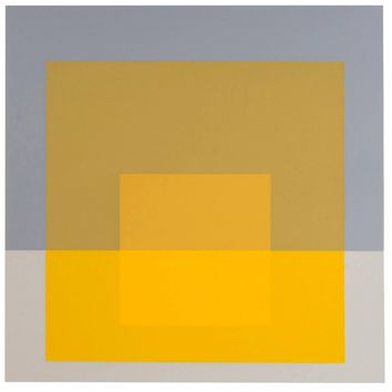 Josef Albers Homage to the Square Screen Print