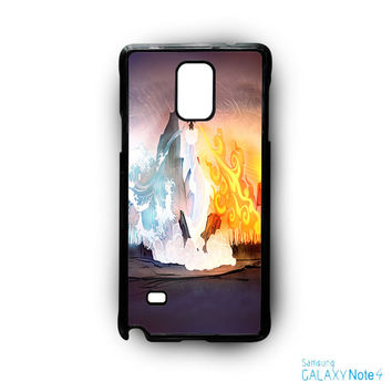 4 element avatar for phone case Samsung Galaxy Note 2/Note 3/Note 4/Note 5/Note Edge