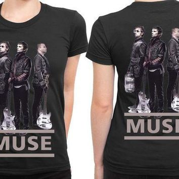 MDIG1GW Muse Cover 2 Sided Womens T Shirt