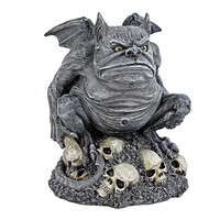 SheilaShrubs.com: Bone Chiller, The Troll Gargoyle Statue CL6140 by Design Toscano: Garden Sculptures & Statues