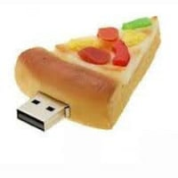 16GB Pizza Shaped USB Flash Drive