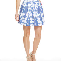 Shop Ikat Pleated Pocket Skirt at vineyard vines