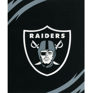 Oakland Raiders King NFL Blanket - Free Shipping in the Continental US!