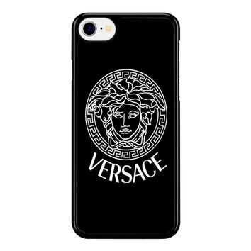 Versace Printed Logo iPhone 8 Case