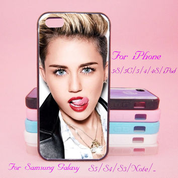 Miley Cyrus,iPod Touch 5,iPad 2/3/4,iPad mini,iPad Air,iPhone 5s/ 5c / 5 /4S/4 ,Galaxy S3/S4/S5/S3 mini/S4 mini/S4 active/Note