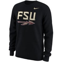 Florida State Seminoles Nike Alt Logo Long Sleeve T-Shirt - Black
