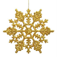 24 Christmas Ornaments - Gold String Hangers Included