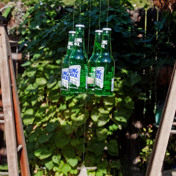 Rolling Rock Four Bottle Wind Chime