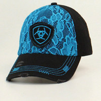 Ariat Lace Black Cap