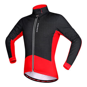 2016 Newest Spring And Autumn Cycling Jersey Popular Outdoor Jerseys Two Colors Comfortable Cycling Men Jersey In Free Shipping