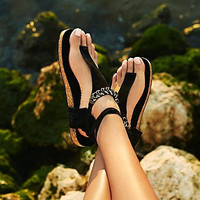 Free People Collins Footbed - Black