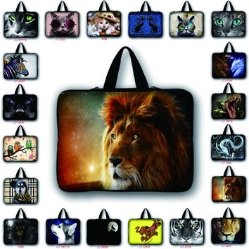 customize print laptop bag pouch sleeve notebook case 7 9.7 11.6 12.1 13.3 14.6 15.6 17.3 inch for macbook pro 13 case LB-64504