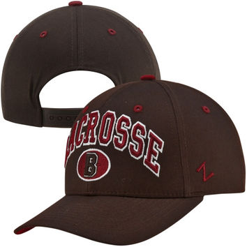 Zephyr Brown Bears Lacrosse Team Color Adjustable Hat - Brown