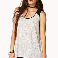 Chiffon-Trimmed High-Low Top | FOREVER 21 - 2062547238