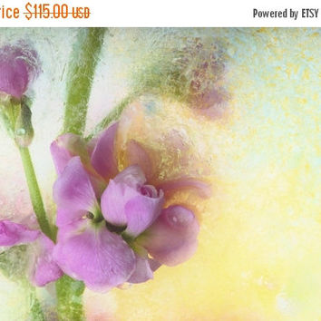 "HOLIDAY SALE: Floral Fine Art ""Romance is in the air""  Print on WaterColor Paper. Fine Art Photography. Unique Fine Art Artwork, Wall Art De"