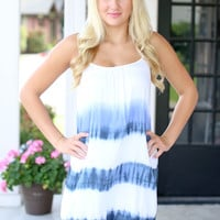 Song and Dance Dress - Blue