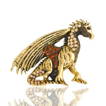 Game of Thrones Dragon Brooch Jewelry
