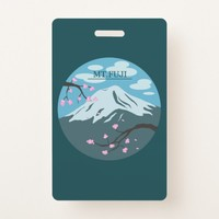 Mt. Fuji Badge