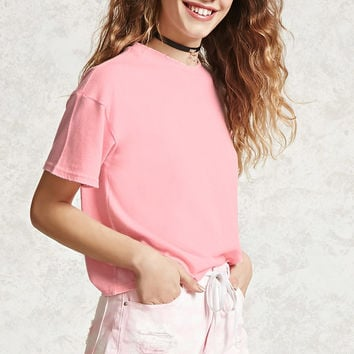 Boxy Raw-Cut Top
