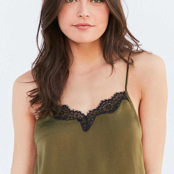 Out From Under Quincy Satin Cami - Urban Outfitters