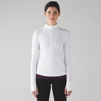Lululemon Women Fashion Sport Running Yoga Cardigan Jacket Coat