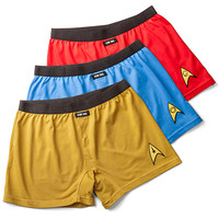 Star Trek Boxer Brief Shorts 3-Pack