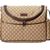 Gucci Basic GG  Canvas Unisex Diaper/Baby/Momma Bag GG Changing Mat 123326