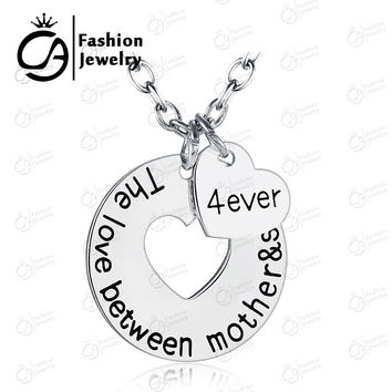 The Love Between Mother/Grandmother and Child Charm Necklace