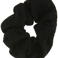 Goody Ouchless Scrunchie, Black, 8 Count