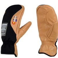 CandyGrind Workman Mitt (Colorado Edition) (Black) Snow Gloves Gloves at 7TWENTY Boardshop, Inc