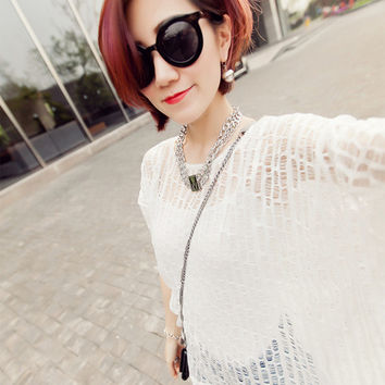 Casual Batwing Sweater