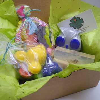 March Beauty Box - Kids Edition - Beauty Box, Soap Box, Monthly Box, Bath Product Box, Subscription Box, Gift Box