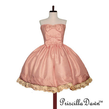 Sweet Pink Marshmellow Roccoco Hime Formal Lolita Prom Cupcake Dress -------CUSTOM in YOUR size Short Wedding Dress