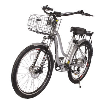 Hanalei 36 Volt Lithium Powered Electric Step-Through Beach Cruiser Bicycle