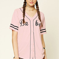 Babe Graphic Baseball Jersey