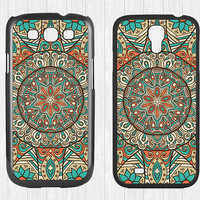 Mandala Samsung Galaxy S3 S4 Case,Mandala pattern Galaxy S3 S4 Hard Case,Minority Totem cover skin Case for Galaxy S3 S4,More styles for you