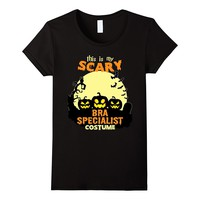 This is my scary Bra Specialist costume T-Shirt