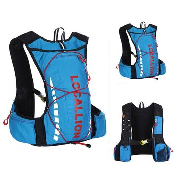 Cycling Backpack / Hiking Fishing Bag - Blue + Red (20~25L)