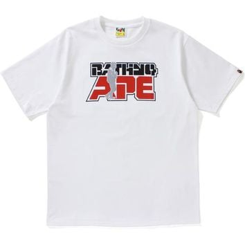 REFLECTOR BAPE CAPTAIN TEE MENS