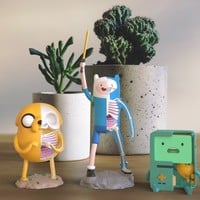 XXRAY Collection Cartoon Figurines