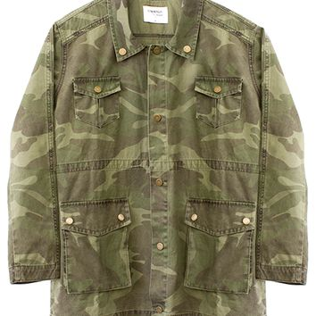 ALEXA MILITARY JACKET - CAMO – Shop Sincerely Jules