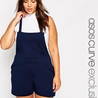 ASOS CURVE Overall Romper