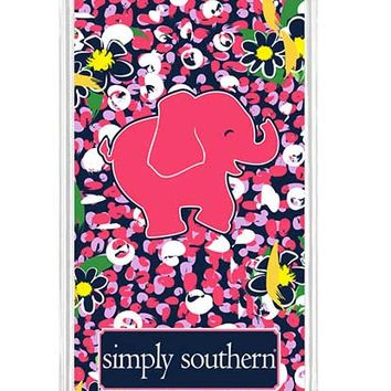 Simply Southern Preppy Phone Case for iPhone 6 in Navy Daisy I6DAISY
