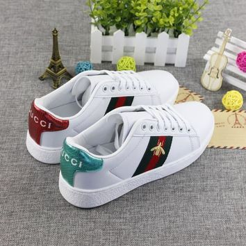 Leather Summer Embroidery Korean Sports Casual Shoes [1902546288737]