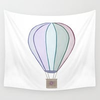 Balloon Wall Tapestry by sm0w